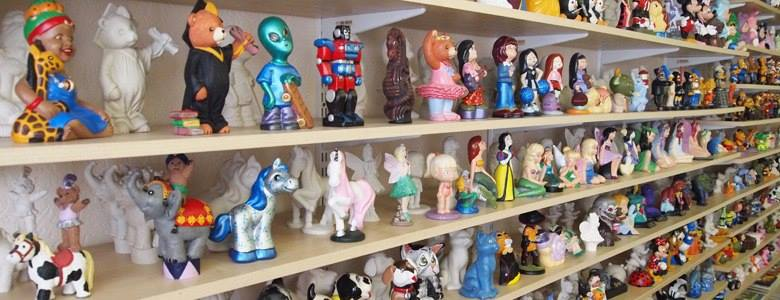 Ceramic Ornaments at Crafty Corner